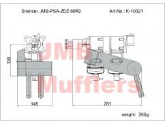 Silencer PSA-ZDZ 80R2