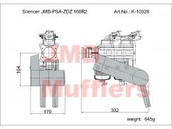 Silencer PSA-ZDZ 160R2