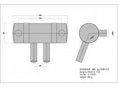 Tlumič pro Fiala VM 210B2-FS, VM 170B2-FS