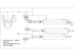 SET-KRILL-Extra330LX 37'%-DLE 170-Zadní výstup